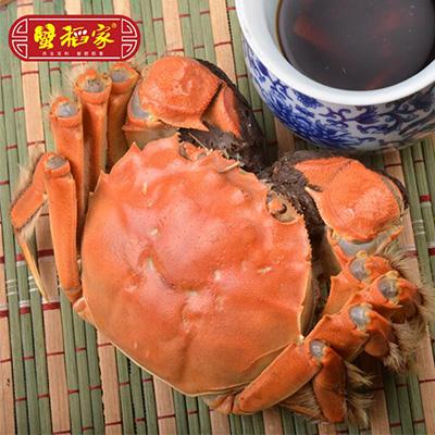 盘锦河蟹2.9-3.2两公蟹10只礼盒装